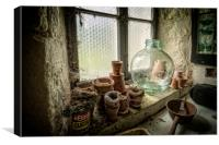 The Old Potting Shed, Canvas Print