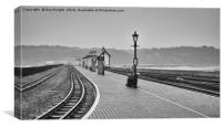 Porthmadog station,North Wales, Canvas Print