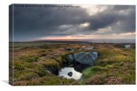 North Pennine Sunrise, Teesdale, County Durham, UK, Canvas Print