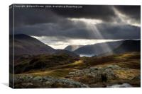 Clearing Storm, Lake District, Cumbria UK.  , Canvas Print