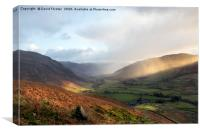Great Langdale Light, Lake District, Canvas Print