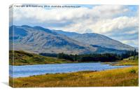 The River Lyon, Glen Lyon, Canvas Print