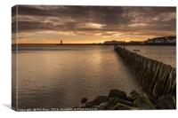 Mouth of the River Tyne, Canvas Print