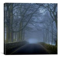 Misty Morning, Canvas Print