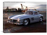 Gullwing Dreaming, Canvas Print