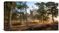 Leith Hill Tower at Dawn, Canvas Print