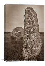 Men an Tol, Cornwall, England, Canvas Print