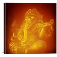 Ganesh, remover of obstacles, India, Canvas Print