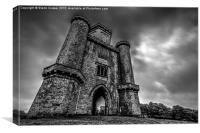 Paxton's Tower, Canvas Print