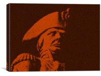 Lord Horatio Nelson , Canvas Print