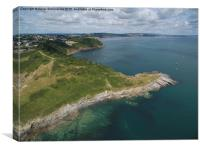 Hope's Nose Babbacombe, Canvas Print