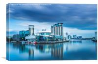 The Lowry at Salford Quays, Canvas Print