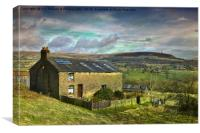 Holcombe hill peel monument, Canvas Print