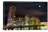 Media City Manchester, Canvas Print