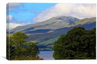 Ben Lawers, Canvas Print