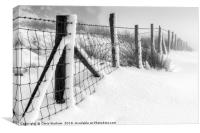 Windgather | Peak District in winter, Canvas Print