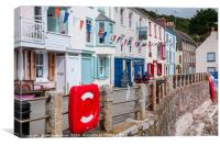 Kingsand, Cornwall, Canvas Print