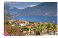 Lake Garda - Limone, Canvas Print