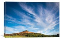 Roseberry Topping North Yorkshire , Canvas Print