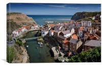 Staithes, North Yorkshire, Canvas Print