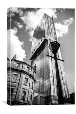 Beetham Tower, Manchester, Canvas Print