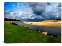 Hayle Estuary Cornwall, Canvas Print