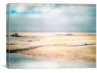 Hayle beach, Canvas Print