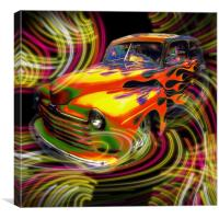 Hot Rod, Canvas Print