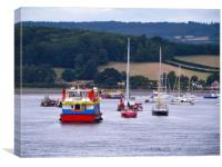 The Pride Of Exmouth , Canvas Print