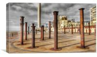 The Golden Spiral. Brighton, Canvas Print