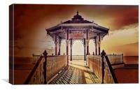 Brighton Bandstand , Canvas Print