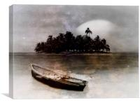 Marooned , Canvas Print