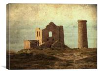 Old Cornish Tin Mine, Canvas Print