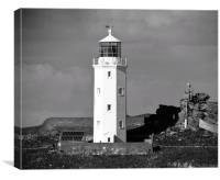 Godrevy Lighthouse , Canvas Print
