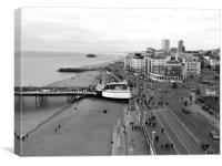 Brighton seafront , Canvas Print
