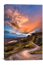 Quiraing Classic, Isle of Skye. , Canvas Print