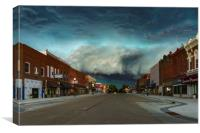 Wild West Supercell, Canvas Print