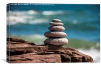 Stacking Life, Canvas Print