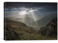 Langstrath, Canvas Print