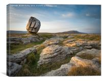 Twistleton Scar, Canvas Print