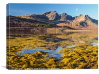 Loch Slapin and Blaven, Canvas Print