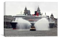 Queen Mary 2, Canvas Print