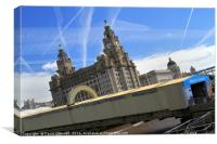 Welcome To Liverpool, Canvas Print