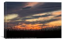 Wirral Sunset, Canvas Print