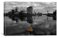 Salford Quays   , Canvas Print