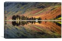 Buttermere Reflections - Lake District, Canvas Print