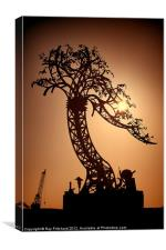 Iron Tree, Canvas Print