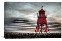 Nautica Arrival at South Shields, Canvas Print