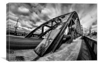 Tyne Bridge 8mm, Canvas Print