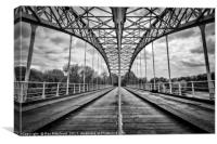 Wylam Railway Bridge, Canvas Print